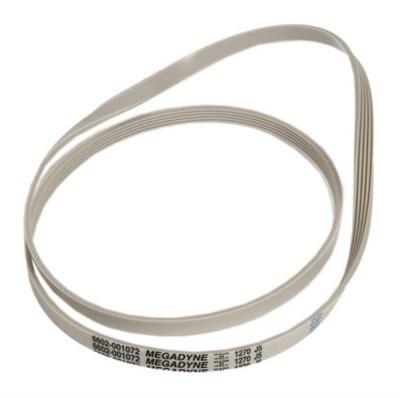Ремень привода барабана 1270J5 (1270 J5) для стиральных машин Samsung 6602-001072, Indesit, Whirlpool, Ariston, AEG, F813 6602-001072, WN554, 481281728272, 194425, BLJ523UN - фото 4505