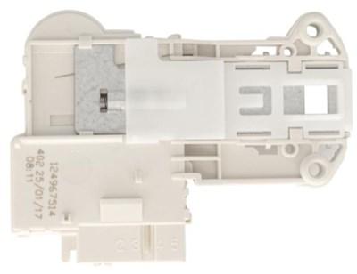 Блокировка люка (УБЛ) для стиральных машин Zanussi, Electrolux, AEG 4 контакта, мгновенного действия, 1249675131, 0917017, 85411110, 1249675107, 1249675115 - фото 4940