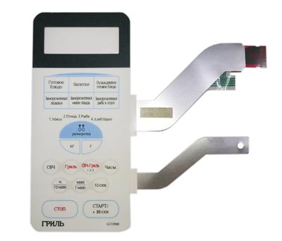 Сенсорная панель для микроволновой печи (СВЧ) Samsung G2739NR, DE34-00115F, DE34-00115A - фото 7348
