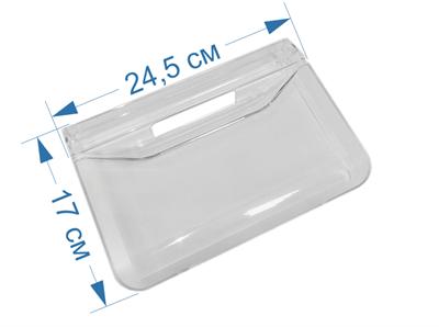 Панель овощного ящика (малая) для холодильников Indesit, Ariston 385672, 856033, С00385672, C00856033, W14805553100, 148051986 - фото 7364