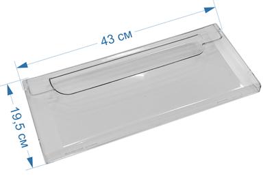 Панель ящика морозильной камеры для холодильников Атлант, Минск 774142101100, МКАУ.741421.011 - фото 7376