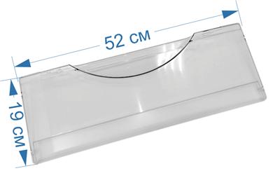 Панель ящика (среднего, нижнего) морозильной камеры для холодильников Атлант, Минск 773522406400, МКАУ.735224.064 - фото 7389