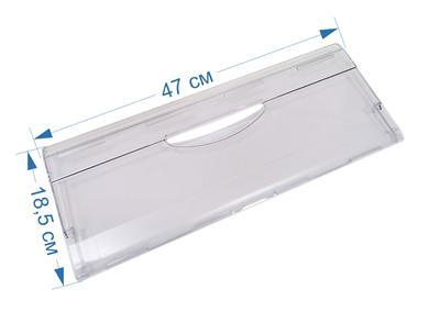 Панель ящика (передняя, откидная) для холодильников Атлант, Минск 774142100800, 774142100100, МКАУ.741421.008 - фото 7405