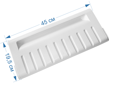 Панель ящика М/К (откидная) для холодильников Ariston, Indesit, Stinol 856007, 720130, 710200, C00856007, W14804291000, 71020 - фото 7414