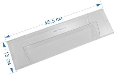 Панель морозильной камеры (откидная) для холодильников Indesit, Ariston, Stinol 857209, 856031, C236, 482000049137, C00856031, 70904-1, W14805563900 - фото 7420