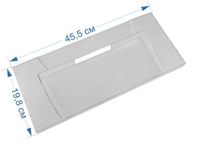 Панель ящика для холодильников Ariston, Indesit, Stinol 856032, 857049, 857048, 857330, 857331, C00856032, W14805555300 - фото 7447