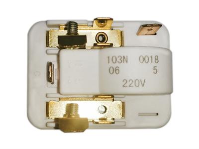 Пусковое реле 103N0018 Danfoss для компрессоров к холодильникам 29FR810, 908081101484 - фото 7738