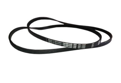 Ремень привода барабана для стиральных машин AEG, Electrolux, Zanussi, черный 1227J4, 1227 J4, EPJ1227 5V Optibelt - фото 7837