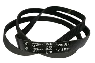 Ремень привода барабана 1204H8 (1204 H8) для стиральных машин Whirlpool, Indesit, Bauknecht 00428652, C00375541, 481235818167 Hutchinson - фото 7918