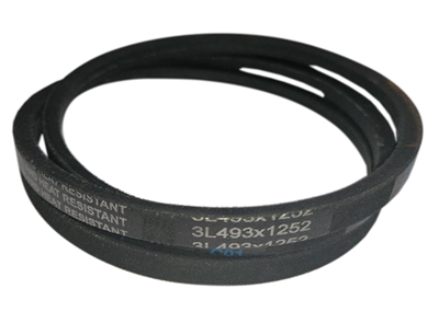 Ремень привода барабана (клиновой) 3L493 (3L 493, 3L493x1252) для стиральных машин Ardo, Candy, Whirlpool, Indesit BLT013UN, 377950, C00377950, 416001700, 92130566, 92607837, 481281728287, WN224