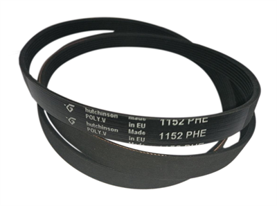 Ремень привода барабана 1152H7 (1152 H7, 1152 PHE) для стиральных машин Bosch, Siemens, Gorenje, Атлант BLH129UN, 908092003030, Hutchinson - фото 7937
