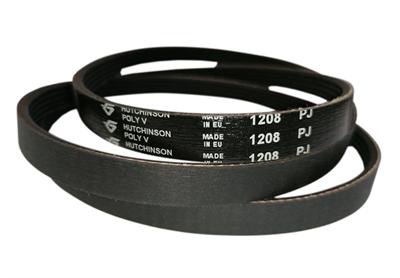 Ремень привода барабана 1208J5 (1208 J5) для стиральной машины Indesit, Aristin, Whirlpool, Gorenje, Haier 229553, 193233, C00193233, L193233, C00143610 - фото 7949
