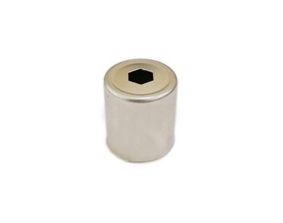 Колпачок магнетрона для микроволновой (СВЧ) печи d=14 мм, шестигранное отверстие - фото 8091