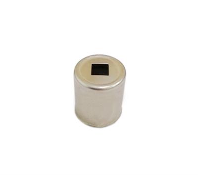 Колпачок магнетрона для микроволновой (СВЧ) печи d=15 мм, квадратное отверстие - фото 8094