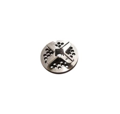 Набор для мясорубок Zelmer, Bosch отверстие-квадрат 10х10 мм, решетка D=55 мм RES801 - фото 8296