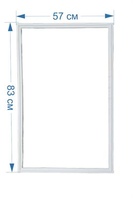 Уплотнитель двери для холодильников Stinol, Indesit, Ariston 854015, C00854015, 488000854015 - фото 8387
