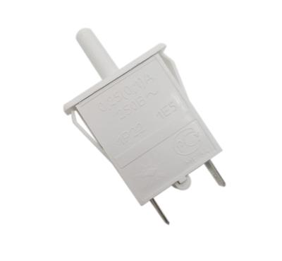Выключатель света кнопочный для холодильников Stinol, Ariston, Indesit ВОК-3 851049, WF450, 482000049300, 378642, C00851049 - фото 8526