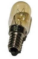 Лампочка (лампа термостойкая) подсветки для микроволновой (СВЧ) печи, 230-240V, 15w-20W, цоколь Е14