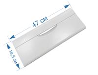 Панель ящика для холодильников Минск, Атлант (передняя, узкая) 301540101200, 301540101700, 301.54-0.1.017