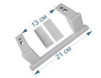 Ручка двери холодильника Liebherr, 21 см, 909603600, 9096036, DHF003LB