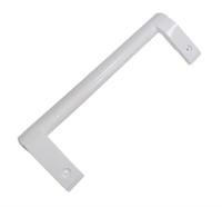 Ручка двери для холодильника LG, прямая, белая AED73673701, AED73153101