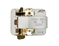Реле пусковое компрессора Danfoss для холодильников 103N0011, RLY002DF