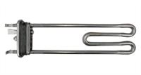 """Тэн 1950W для стиральных машин BEKO, прямой с отверстием под датчик, L=250 мм, l=12 мм,резинка с """"юбкой"""", 2863401600, 2703371600, 2863701600, 9149889, AC5104, NW84TF, 2804980200"""
