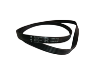 Ремень привода барабана для стиральных машин AEG, Electrolux, Zanussi, черный 1280J6, 1280 J6, 1280 PJE,  WN269