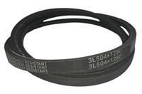 Ремень привода барабана (клиновой) 3L504 (3L 504, 3L504x1280) для стиральных машин Indesit, Ariston, Hotpoint, Stinol, Whirlpool BLT017UN, 104497, C00104497, WN209, 04AG008, 482000028387