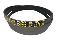 Ремень привода барабана 1221H7 (1221 H7, EL 1221) для стиральных машин Indesit, Ariston, Hotpoint, Stinol, Whirlpool BLH310UN, 056948 C00056948, AV09148 Megadyne
