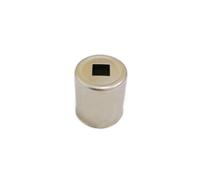Колпачок магнетрона для микроволновой (СВЧ) печи d=15 мм, квадратное отверстие