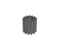 Шестерня для мясорубки Помощница (малая металлическая) 12,5/5,5 мм SPM001