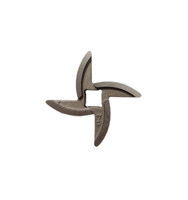 Нож для мясорубок Аксион, Бриз Россия, четырехгранник, отверстие 8х8 мм NMB033