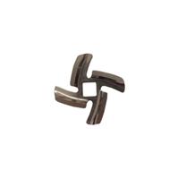 Нож для мясорубок Braun, Vitek 4-хгранник, квадрат 10х10мм NMB019