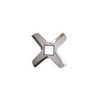 Нож для мясорубки Kenwood PRO 2000 Excel, четырехгранник, квадрат 13х13 мм NMB015
