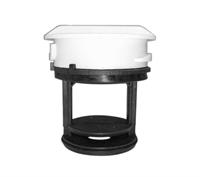 Фильтр (заглушка) сливного насоса (без резьбы) для стиральных машин CANDY WS019, 91940540, 92945468, 92626886, WS013, FIL001CY