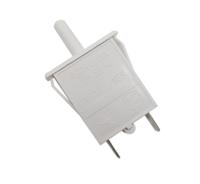 Выключатель света кнопочный для холодильников Stinol, Ariston, Indesit ВОК-3 851049, WF450, 482000049300, 378642, C00851049