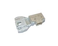 Устройство блокировки люка (УБЛ) для стиральных машин Indesit,  Ariston, Stinol, Whirlpoo (3 контакта) 297327, 306612, C00297327, C00306612, 482000023482, 482000089312, ZV-446
