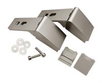 Ремкомплект ручки двери холодильника Liebherr (Либхер), цвет серый, 959017800013, 959012400, 959012800, 959017800, 9590124